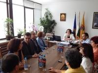 Кметът на Община Троян посрещна официална делегация от Виньо-на-Сена